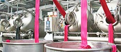 textile dyeing plant
